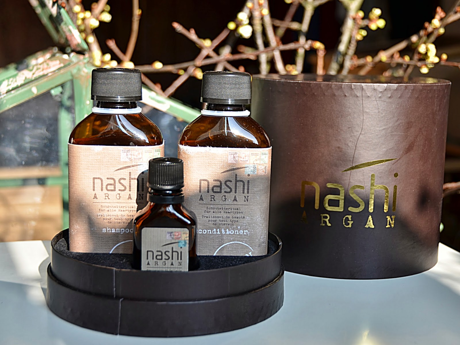 swiss beautytalk blog beaut shampoing et conditioner de nashi argan. Black Bedroom Furniture Sets. Home Design Ideas