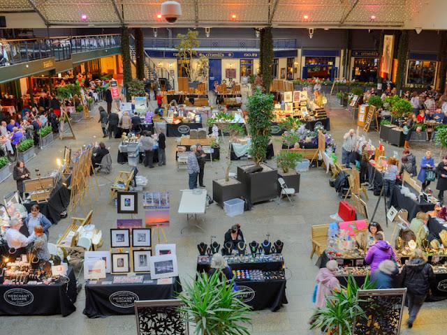 Glasgow Merchant Square Craft Fair