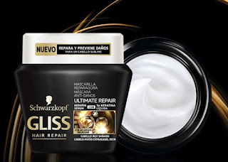 Muestras gratis mascarilla Gliss Ultimate Repair