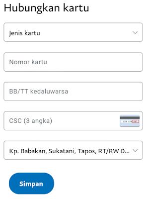 Menambahkan Kartu Kredit Ke Paypal