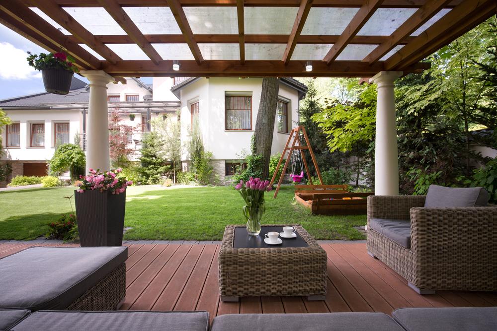 Überdachte Terrasse Gestalten Wohn Design