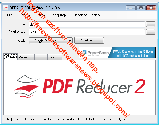 free pdf size reducer software