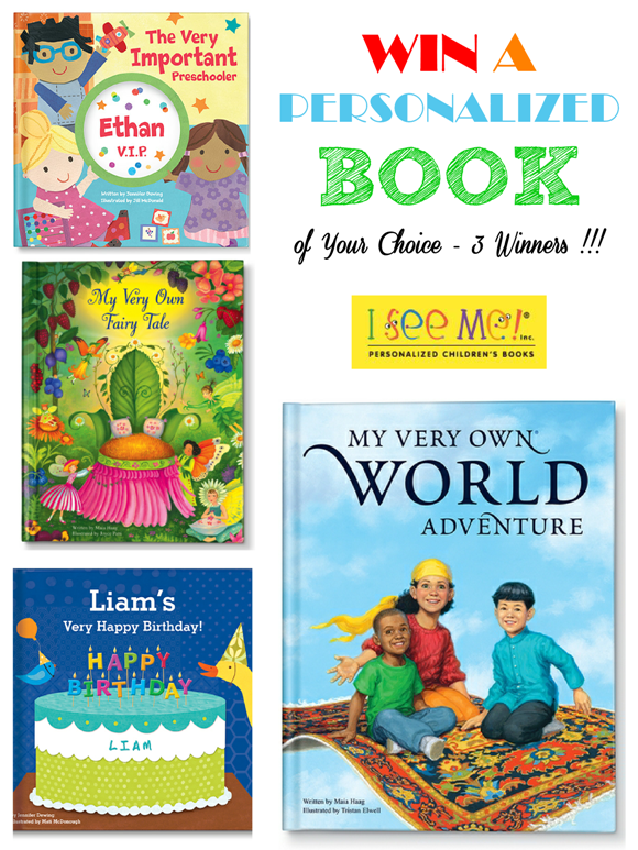 Giveaway | Win a Personalized Children's Book