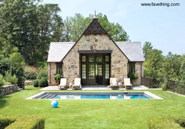 arquitectura de casas dise os de casas hechas de piedra On guest house models