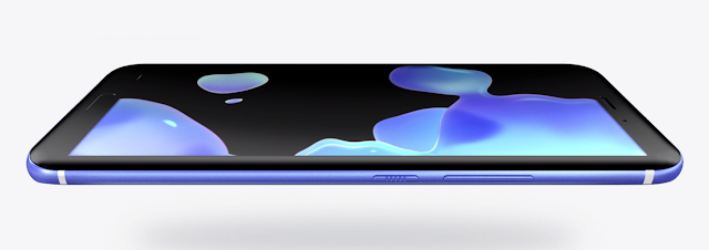 2017 HTC U11 Smartphone Symmetrically slim from every angle