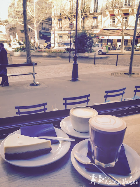 Honeymoon, cafe, Paris, review, ฝรั่งเศส, รีวิว, ฮันนีมูน, สวีท,ปารีส, montmartre, มงมาร์ต, sacre couer, KB cafeshop