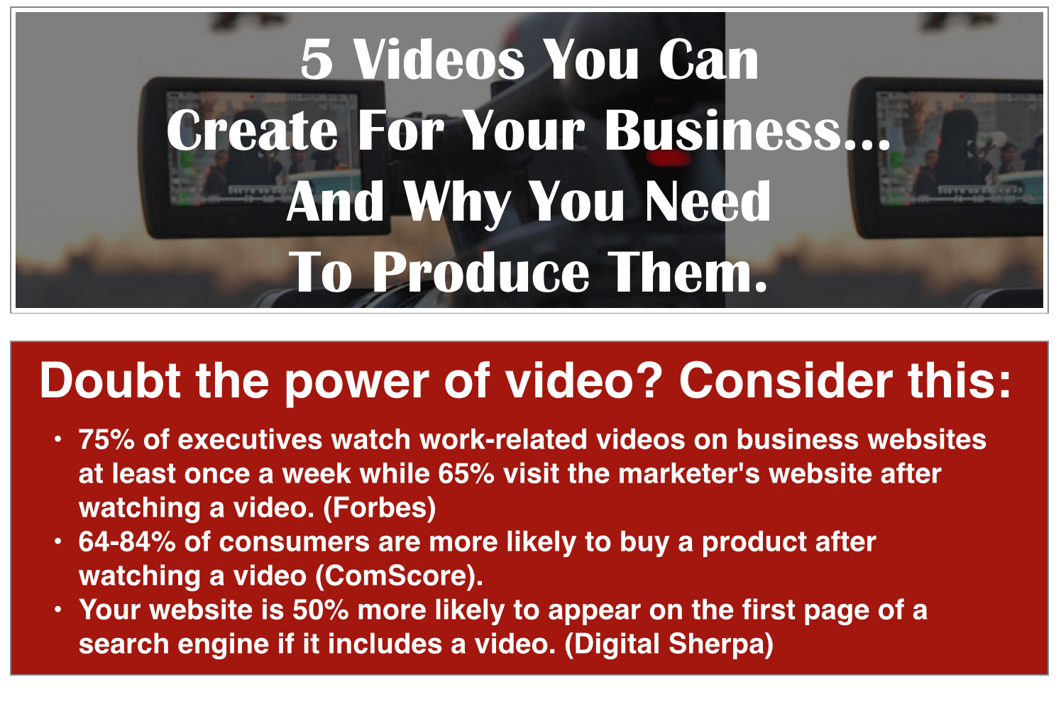 videos for business, google hangouts for business, how to produce videos for your business