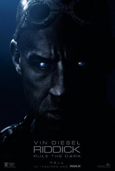 Poster Of Riddick 2013 720p Hindi BRRip Dual Audio Full Movie Download