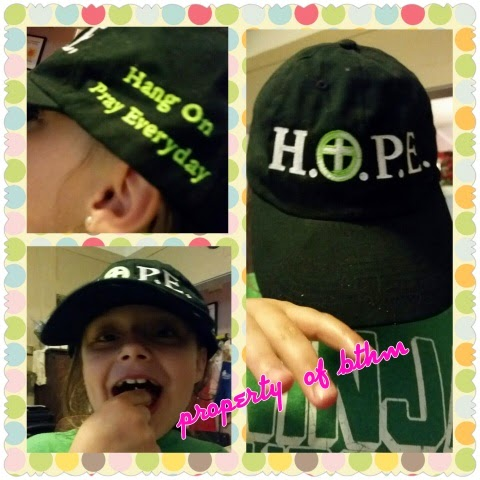 hope cap collage