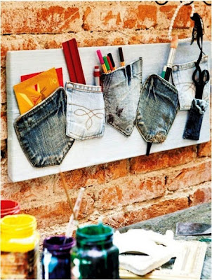 Pocket jeans multi fungsi