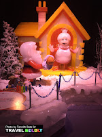 Santa Claus is Coming to Town  is the theme of the 2016 ICE  Festival at the Gaylord Texan Resort, Grapevine, Texas. Travel Boldly