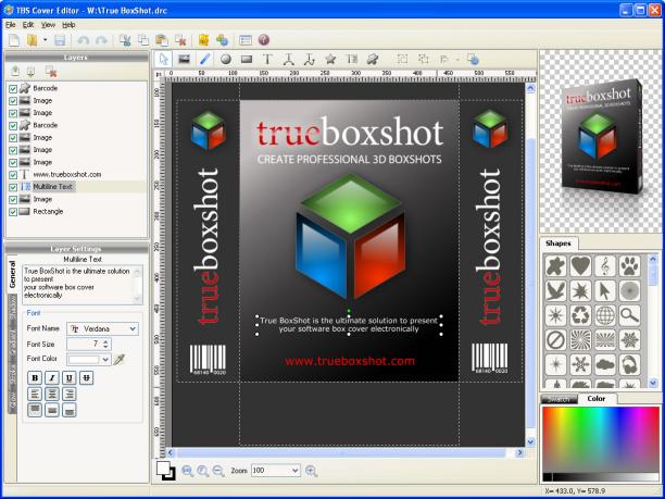 portable apps: TBS Cover Editor 2.5.3.324 Portable