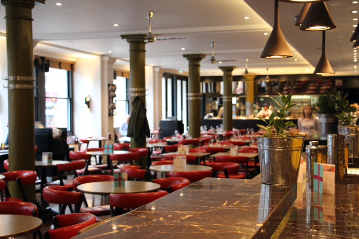 Eastway Restaurant Andaz Liverpool Street