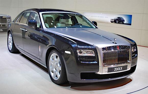 2012 Rolls-Royce Ghost Extended Wheelbase Wallpaper