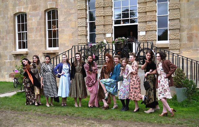 Pretty Nostalgic Gathering 1940's Re-enactors