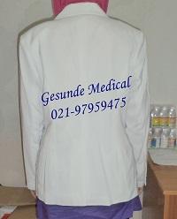 Baju Dokter Perempuan Lengan Panjang