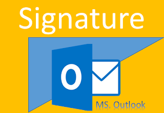 cara membuat signature di microsoft outlook