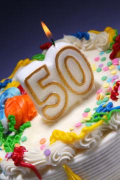 50 anos aniversário divertido