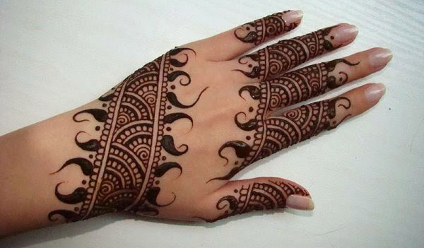 Latest Simple Mehndi Design For Hands 2016