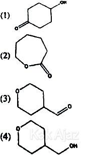 Isomer dari asam siklopentilmetanoat, TKD Saintek SBMPTN 2017