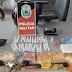 PM prende casal suspeito de tráfico de drogas no interior da PB; confira