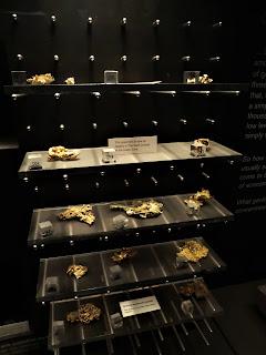 Oro Nativo, Museo Historia Natural de Londres