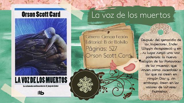 La voz de los muertos - Orson Scott Card