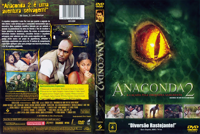 Capa DVD Anaconda 2
