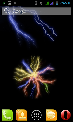 Electric Touch Live Wallpaper download image