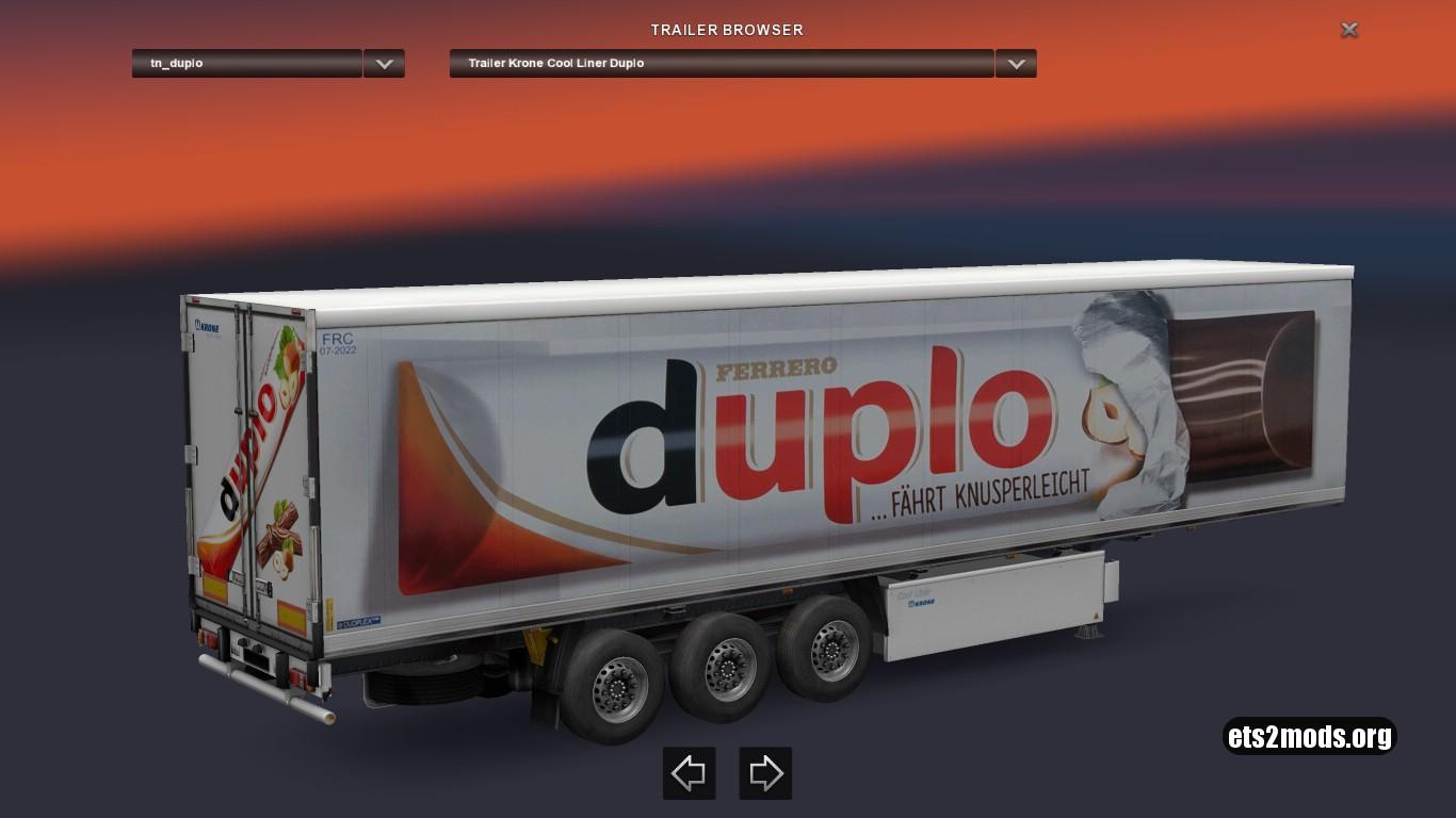 Krone Duplo Trailer
