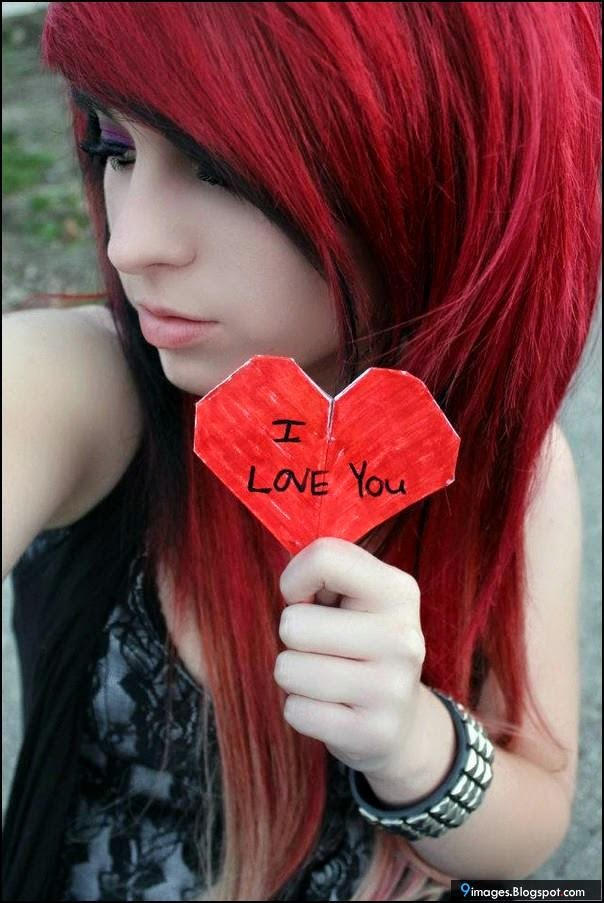 Best Imagenes De Chicas Emos Con Frases De Amor Image Collection