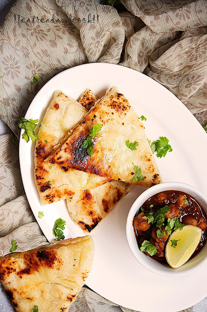 how to make Amritsari Kulcha recipe and preparation with step by step pictures