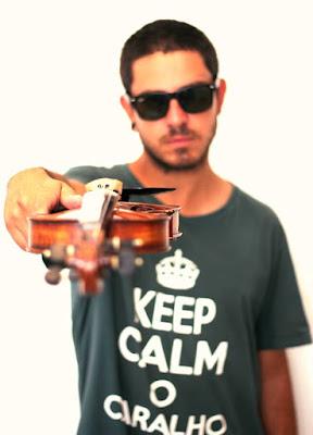 Léo Machion, beatmaker, violinista, músico