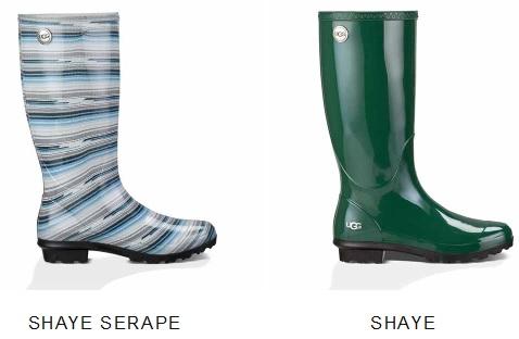 Shaye Serape Rain Boot
