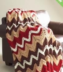 http://www.yarnspirations.com/pattern/crochet/cabin-woods-afghan