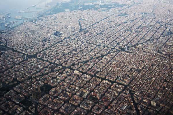 peta kota barcelona