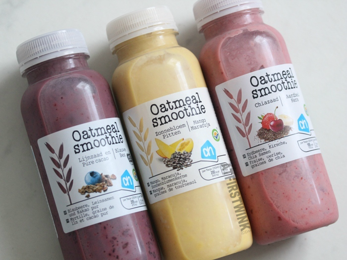 Review: Albert Heijn Oatmeal smoothies