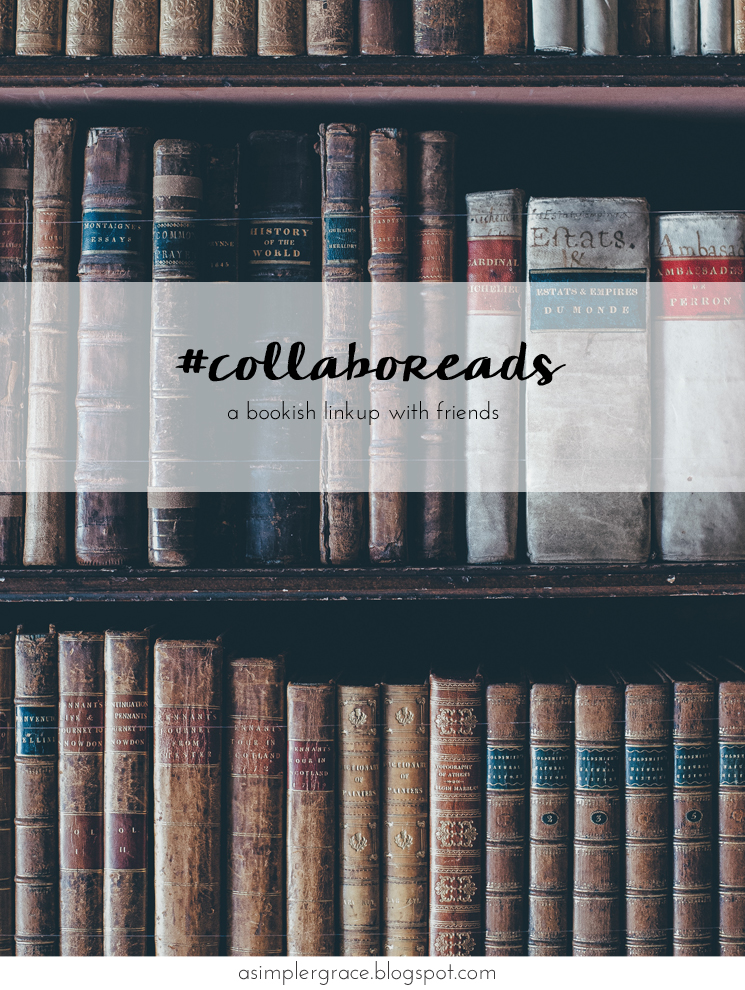 A bookish linkup with friends - #Collaboreads | Same Name - A Simpler Grace #asgbookshelf