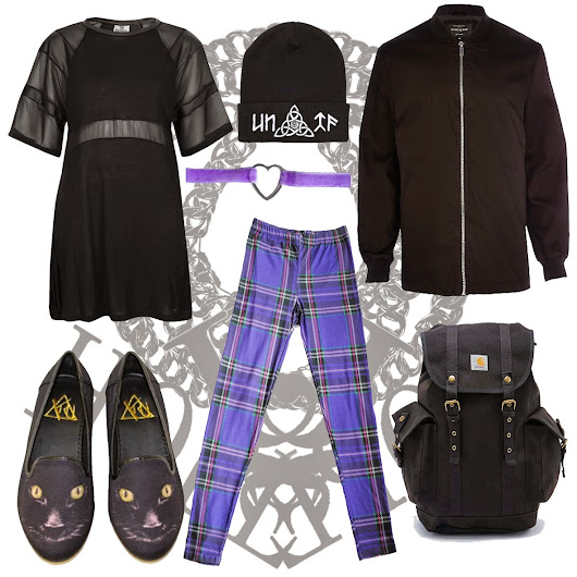 Outfit of the day featuring inspiration from Y.R.U