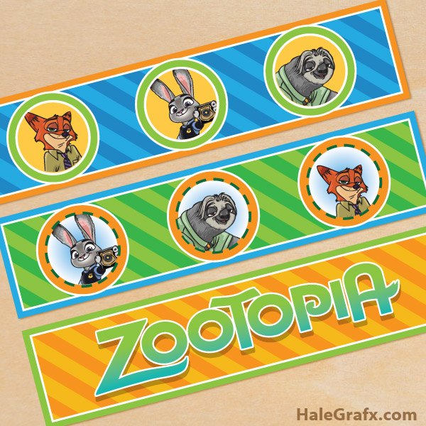 Musings Of An Average Mom: Zootopia Printables