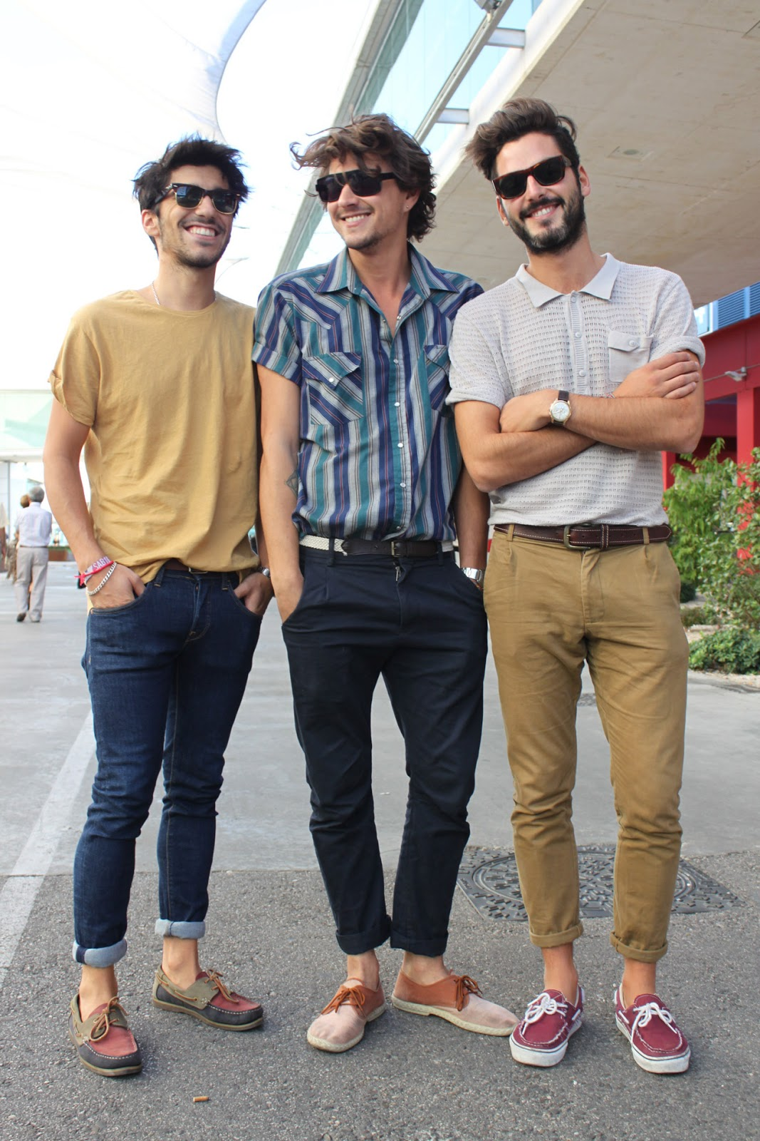 J&F Magazine: Fashion 4 Guys, Street Style, Chicos con Barba