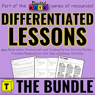 Differentiated Guided Math Lessons