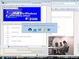 Lector de pantalla Jaws en Windows