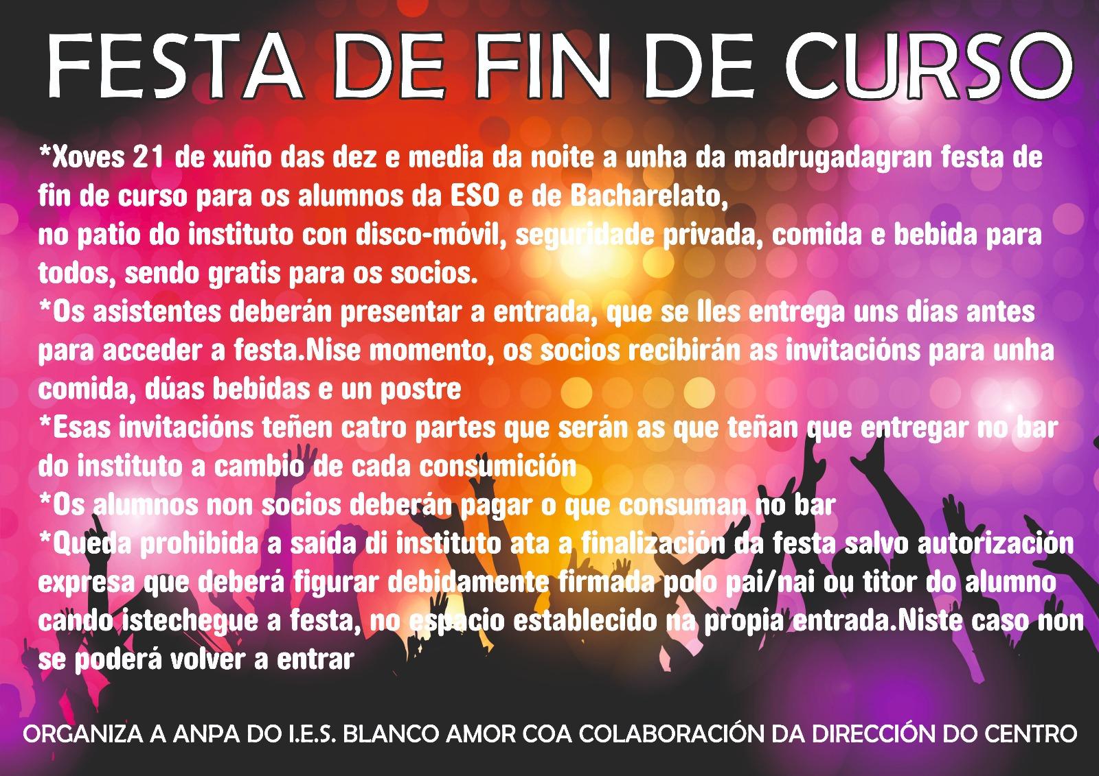 Anpablancoamor Revista Festa Fin De Curso