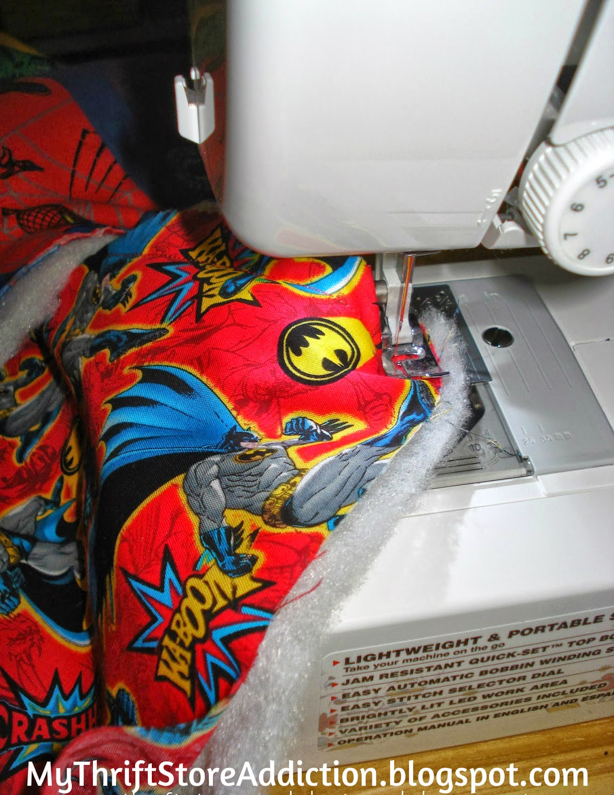 superhero t-shirt quilt