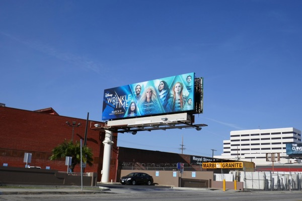 Wrinkle in Time film billboard