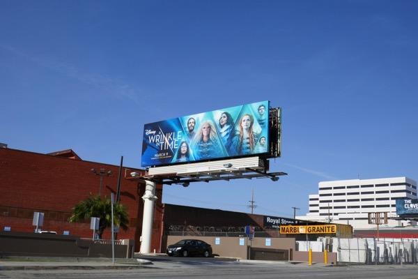 Wrinkle in Time film billboard