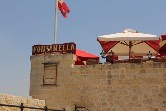 fontanella tea garden Mdina malta travel guide