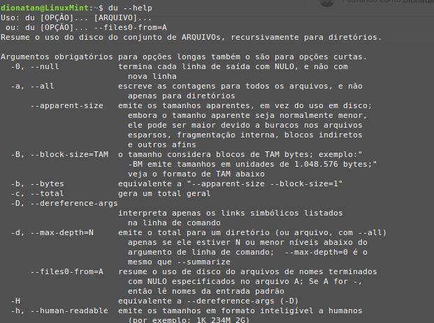 du-help-linux