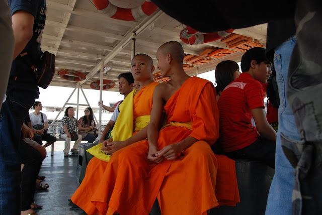 Mönche in Bangkok Thailand